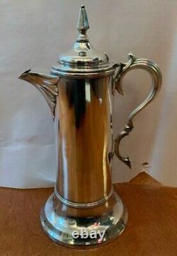 1879 Vintage Meridan B Company Communion Flagon Silver Coffee Tea Service