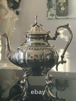 1950 Sheridan Silver plate 6 piece Coffee & Tea Set