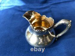 8-piece Vintage Silver Tea & Coffee Set- (Wallace, Wilcox, Reed & Barton)
