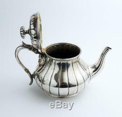 ANTIQUE ELKINGTON & Co Silver Plated TEA POT