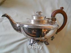 Absolutely Lovely 4 Pc Birks Regency Plate Coffee/tea Set