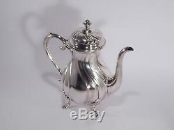 Antico Servizio Caffe'-te' Argento Silver Plate Atla Cohr Tea Coffee Service
