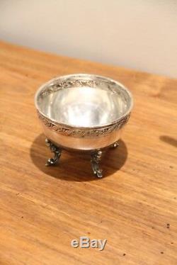 Antique 1920s vintage tilting teapot, silver plate over copper tea set