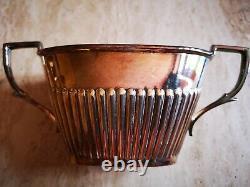 Antique Art Deco Edwardian Silver Plated Tea Set