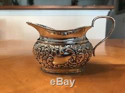 Antique English Sheffield Silver-plate Coffee & Tea Seat