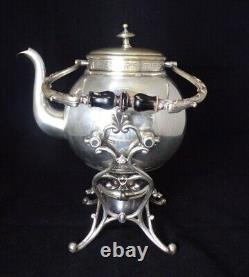 Antique German WMF Silver Plated Samovar Tea Coffee Water Urn, Art Nouveau Style