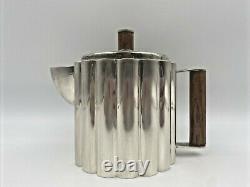 Antique Mid Century Art Deco Coffee Tea Pot Ilonka Karasz Silver Plate Pitcher