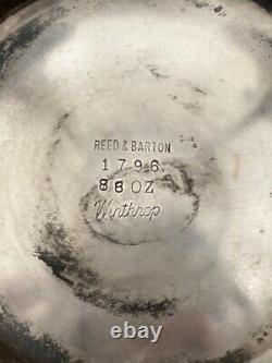 Antique Reed & Barton 88oz Silverplate Winthrop Tea Dispenser #1796 (CGM019593)