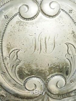 Antique Reed Barton & Winthrop 4 Piece Tea Set # 1794 A. Manufactured 1850-1870