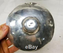 Antique Sheffield Silver Plate Hot Water Urn Tea Pot Samovar Copper