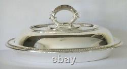 Antique Silver Plated Tureen, EPNS, Antique Tableware, High Tea, Platter