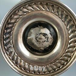 Antique Tilting Tea Pot w Warmer by International Silver #St James, Silverplate