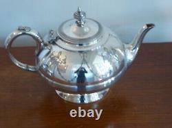 Antique Vintage Silver EPBM Tea Pot, Milk Jug, Sugar Bowl