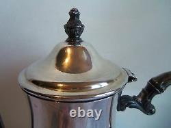 Antique Wm Rogers 800 Silver Tea Or Water Pitcher Very Nice