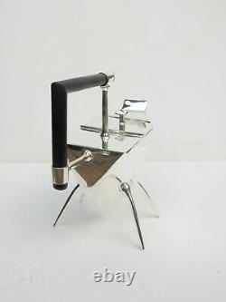 Art Deco Silverplated Silver Christopher Dresser Tea Pot