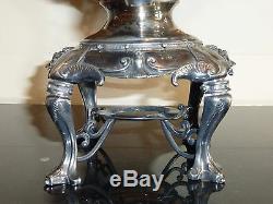 Art Nouveau Antique Victorian P. B. & P. Co Silver Plated Tea Hot Water Server