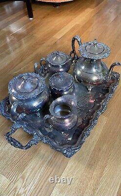Ascot Silver Tea Set