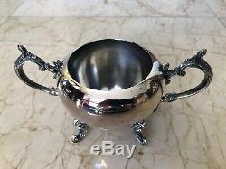 Authentic 5-Pc FB Rogers Silver Excellent Coffee Tea Set Victorian Silver Plate