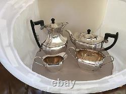 BEAUTIFUL 4 PIECE SILVER PLATED TEA/COFFEE SERVICE (SPTCS 3233) epns sheffield