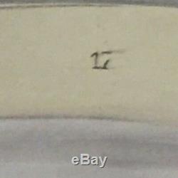 Barker Ellis Silver Plate Large Tea / Serving Tray- 22