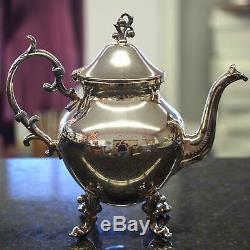 Birmingham Silver Company Silver Plate Tea Set