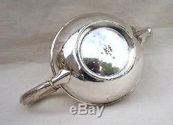 CHRISTOFLE French Modern Style Silverplate Tea Pot Paris 1900
