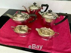 Elkington and Co. Silver Plated Tea and Coffee Set, 1900s