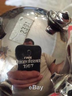 Eugen Ferner 5 Piece EPNS Tea Set 1966-1967 Tray Coffee Excellent Condition