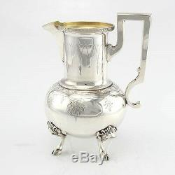 Extensive 6pcs Silver Plated Tea and Coffee Set Mappin & Webb England Circa 1930