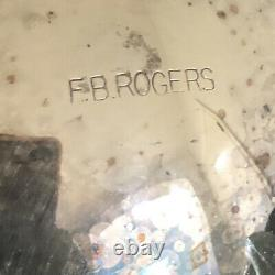 F. B. Rogers COFFEE TEA 5 pieces, Melon Design, Tray Not Include