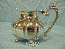 F. B. Rogers Silver Tea Service, Set of 4 pieces