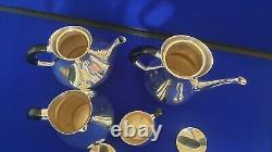 Four Piece Danish COHR Silver Plated Tea/Coffee Set 1960s