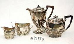 Francis Howard Sheffield England Coffee Tea Set