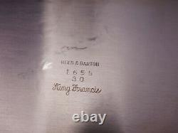 Francis I Old by Reed & Barton Silverplate 1 3/4 x 30 x 20 Tea Tray (#4421)