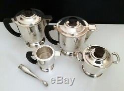 French Art Deco Coffee/Tea Set by Albert Frionnet