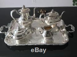 Gorgeous 5 pcs Vintage Silver-plated GORHAM Coffee/Tea Set