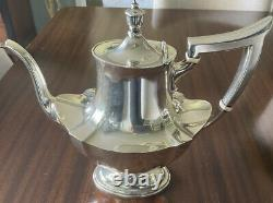 Gorham 6 Piece Sterling Plymouth Coffee and Tea Set (1911) with plate tray
