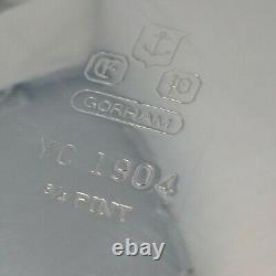 Gorham Silverplate Duchess Coffee/Tea Set YC1901/1902/1903/1904 Tray YC1461