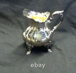 Heavy Silver WALLACE SILVER Tray and COFFEE & TEA SERVICE