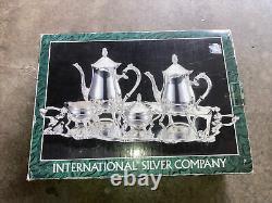 International Silver Company Silverplated 5-Piece Coffee Tea Set