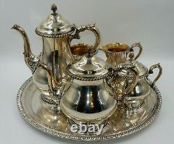 KENWOOD by GORHAM SILVERPLATE COFFEE / TEA SERVICE SET (6pc.)
