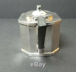 Lawrence B. Smith, American Silver Plate Art Deco Period Tea Pot
