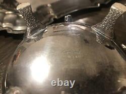 Leonard Vintage Silver Plate Tea/Coffee Set