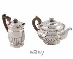 Matthew Boulton Rolled Sheffield Coffee Biggin &Tea Pot Circa 1800 ORIGINAL WOOD