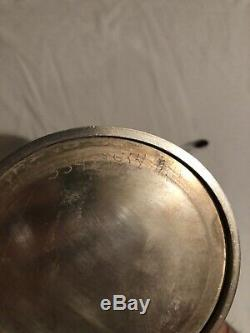 Mid Century Tea Coffee Set Unknown Maker Silver