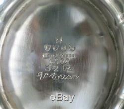 REED & BARTON 6-PC SILVER PLATE TEA/COFFEE SERVICE VICTORIAN Circa 1950 RARE