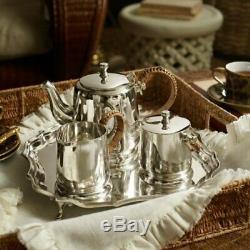 Ralph Lauren Silver plated Darian Tea Set