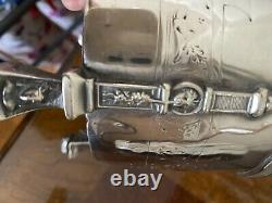 Reed And Barton Silver Plate Tea Set 2425 -7 Patent Pending Plated By R&B