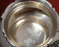 Reed & Barton KING FRANCIS Silver Plated WASTE BOWL for Tea Set Ornate #1654 I