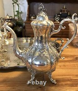 Reed & Barton Silver Plate Tea Set